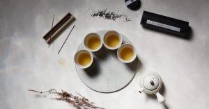 aranjament ceai